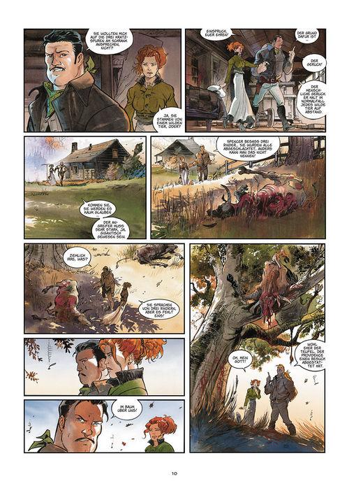 Leseprobe aus Silbermond über Providence 1: Kinder des Abgrunds - Seite 10