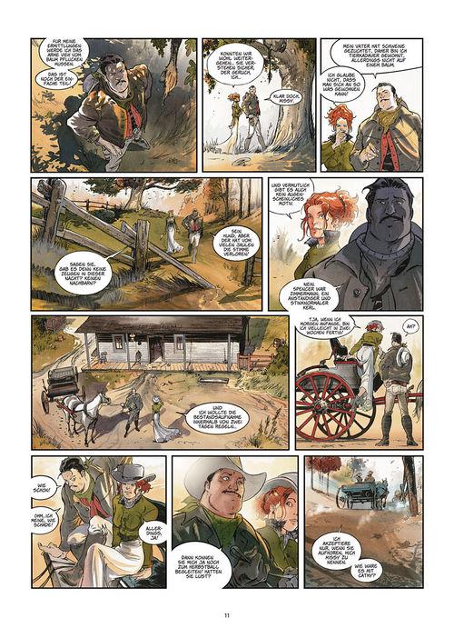 Leseprobe aus Silbermond über Providence 1: Kinder des Abgrunds - Seite 11