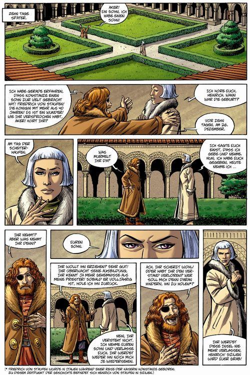 Leseprobe aus Die Macht der Archonten 3 - Teil 6
