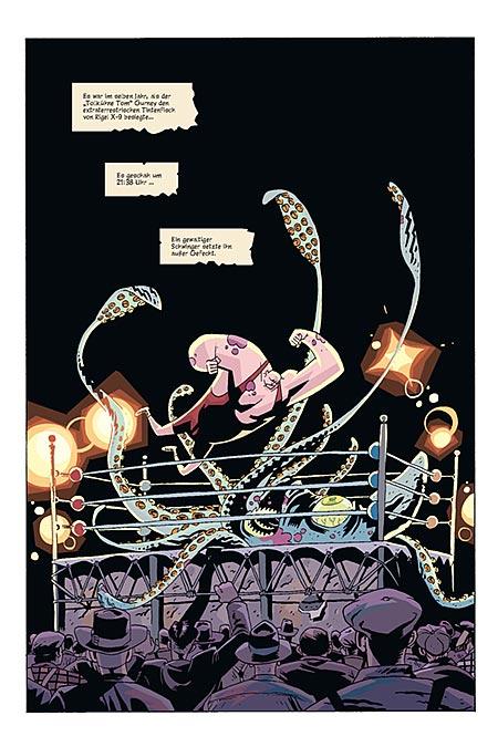 Leseprobe aus The Umbrella Academy 1 - Seite 1