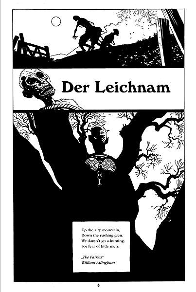 Leseprobe aus Hellboy 4: Sarg in Ketten - Seite 1