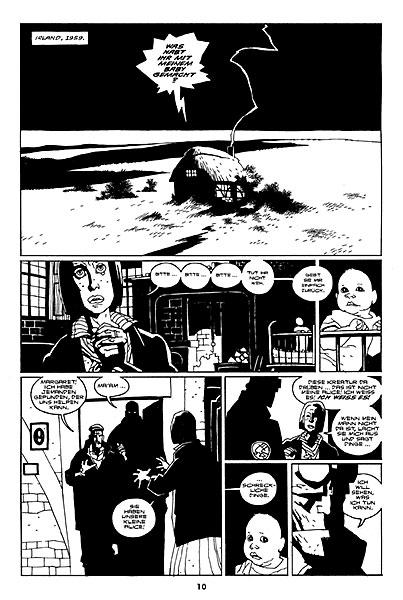 Leseprobe aus Hellboy 4: Sarg in Ketten - Seite 2