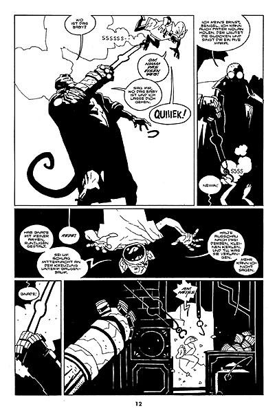 Leseprobe aus Hellboy 4: Sarg in Ketten - Seite 4