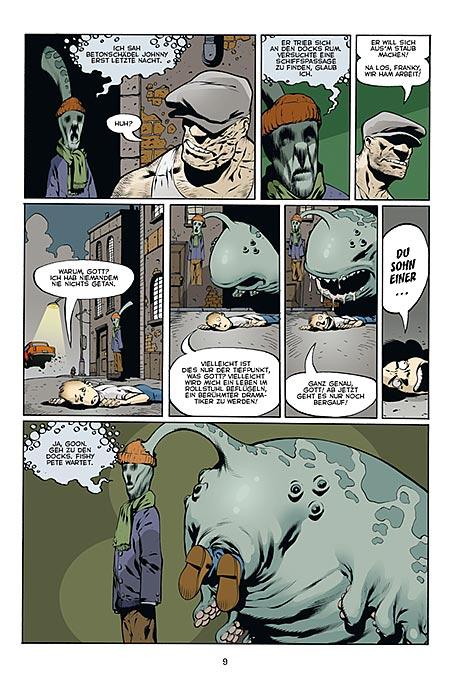 Leseprobe aus The Goon 2 - Seite 9