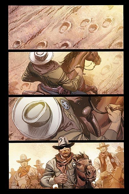 Leseprobe aus The Lone Ranger 1 - Seite 1