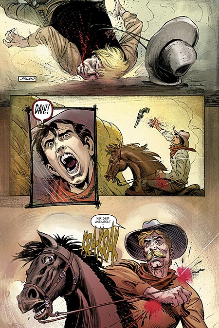 Leseprobe aus The Lone Ranger 1 - Seite 10
