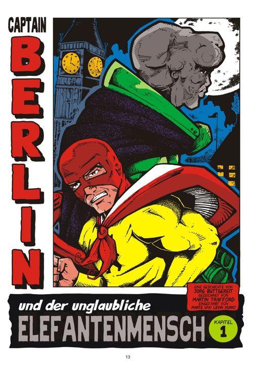 Leseprobe aus Captain Berlin 2