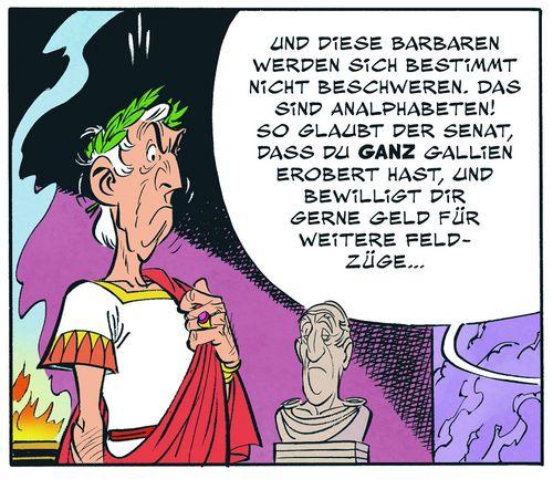 Leseprobe aus Auszug Asterix 36