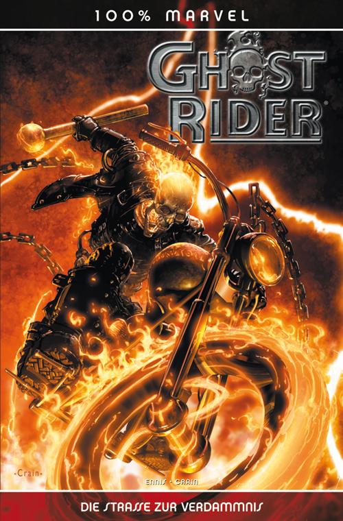 Leseprobe aus 100% Marvel 26: Ghost Rider – Die Strasse der Verdammnis - Das Cover