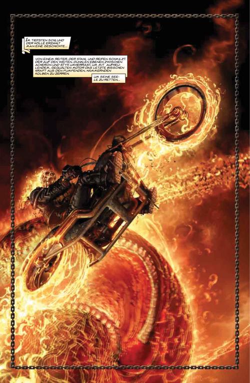 Leseprobe aus 100% Marvel 26: Ghost Rider – Die Strasse der Verdammnis - Seite 1