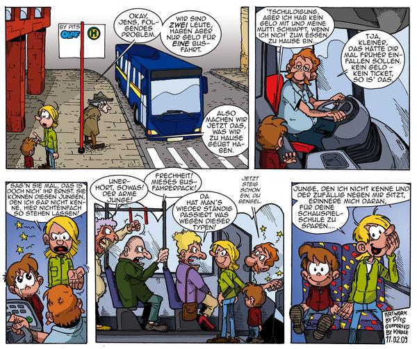 Busfahrer sind nette Menschen