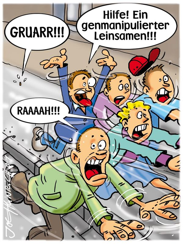 Joe Heinrich - Genmanipulierter Leinsamen aufgetaucht!