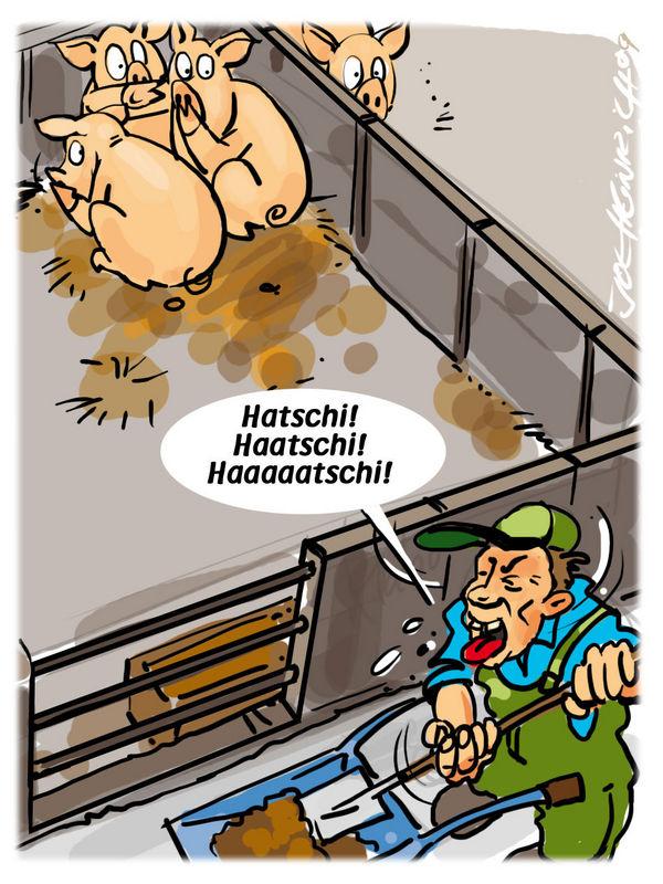 Joe Heinrich - Panik im Schweinestall