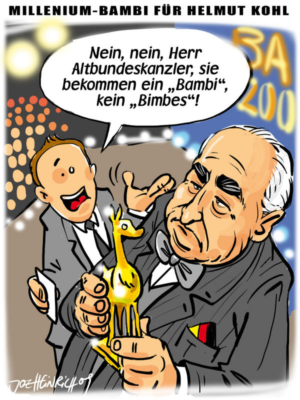 JOE HEINRICH - Bimbeskanzler