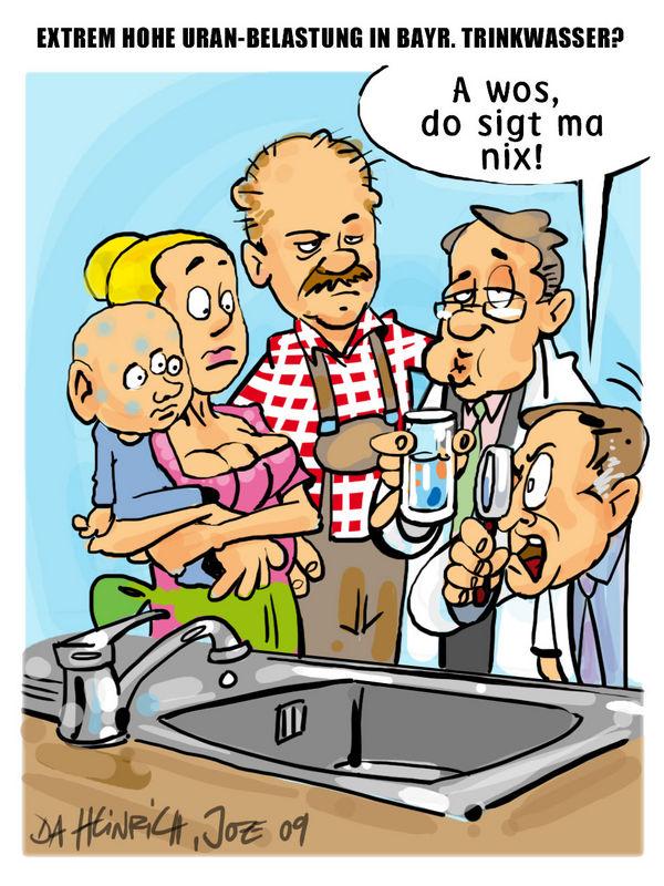 JOE HEINRICH - Hilfe, schweres Wasser!