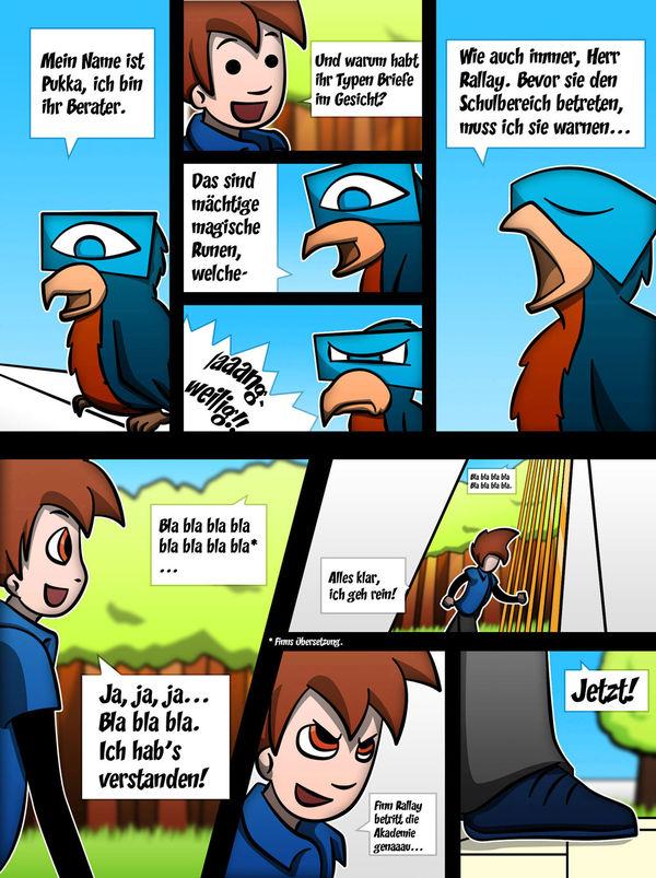WHO Is The Strongest?! Kapitel 01 - Seite 19