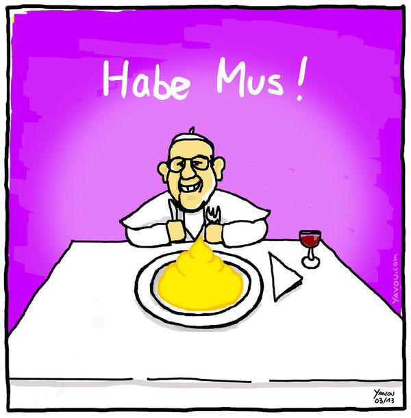 Cartoons von Yavou 2013- Woche 12 - Rein zu doll