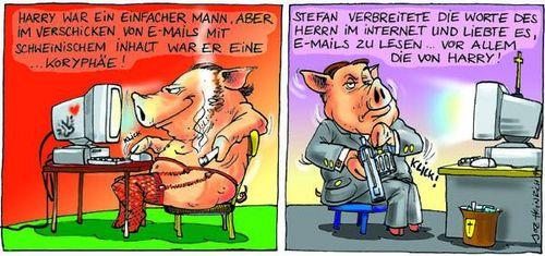 Harry und Stefans Schweinkram