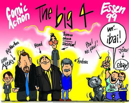 The Big 4 auf der Comic Action