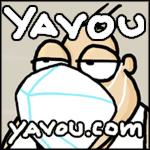Cartoons von Yavou 2021 - Woche 04 - Sexy Man #9