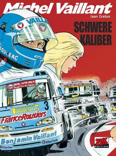 Michel Vaillant 49: Schwere Kaliber - Das Cover