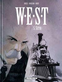 W.E.S.T. 5: Seth - Das Cover