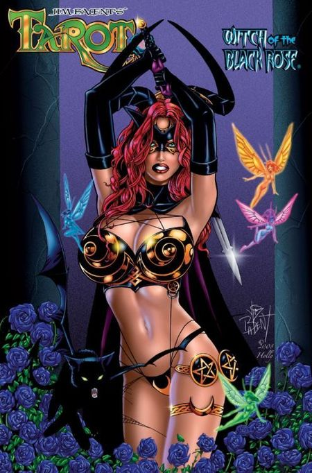 Tarot - Witch of the Black Rose 7: Die Schattenhexe - Das Cover