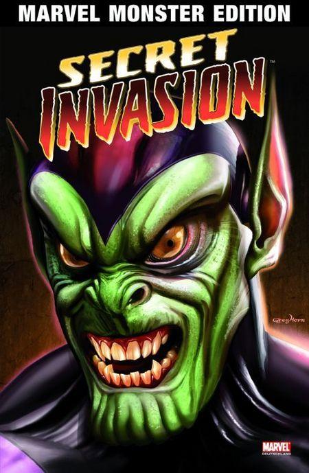 Marvel Monster Edition 30: Secret Invasion 1 - Das Cover