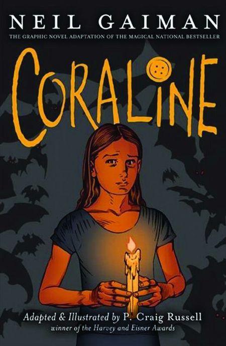 Coraline - Das Cover
