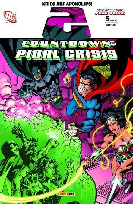 Countdown zur Final Crisis 5 (von 6) - Das Cover