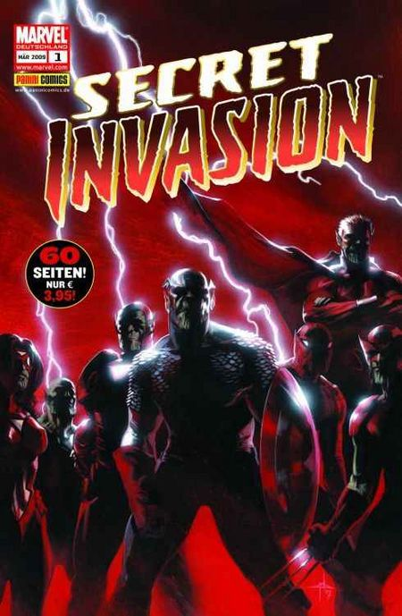 Secret Invasion 1 - Das Cover