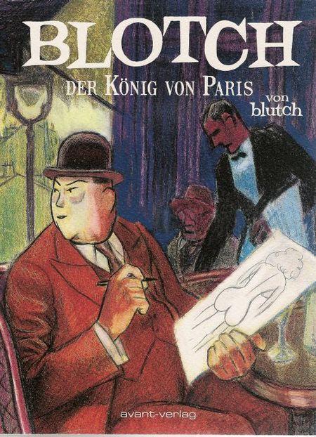Blotch - Der König von Paris - Das Cover