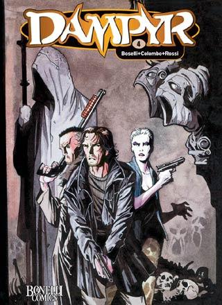 Dampyr 4: Verlorene Seele, Die dämonische Leinwand - Das Cover