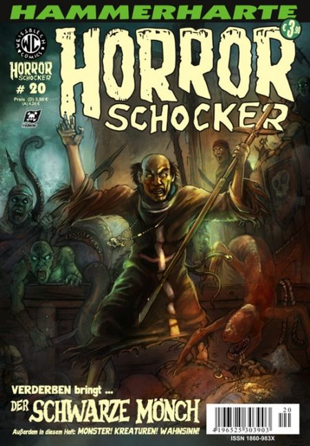 Horrorschocker 20 - Das Cover