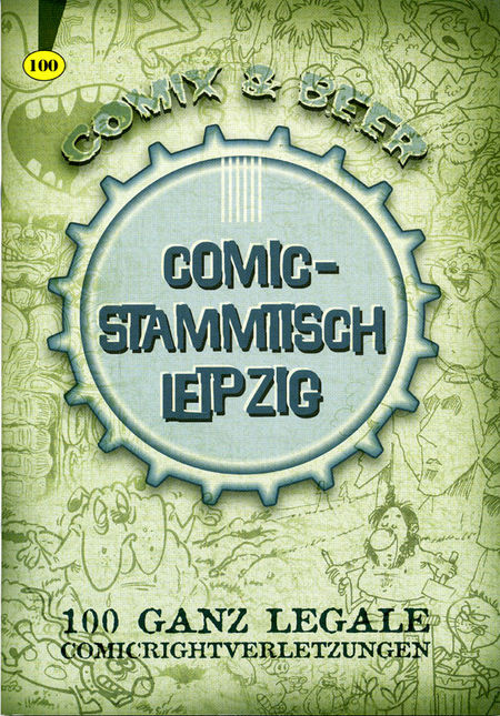 Comix & Beer - Das Cover