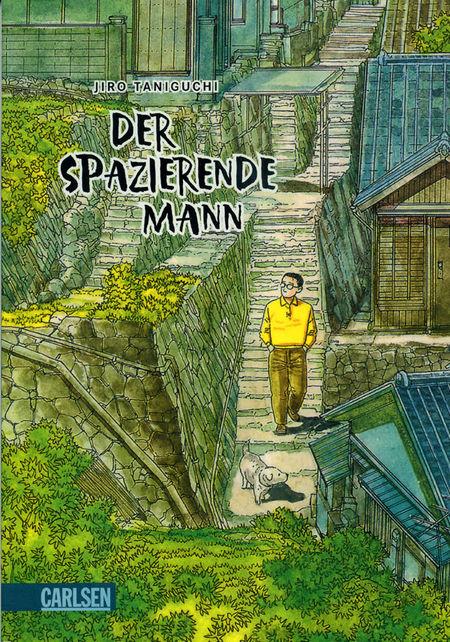 Der spazierende Mann - Das Cover