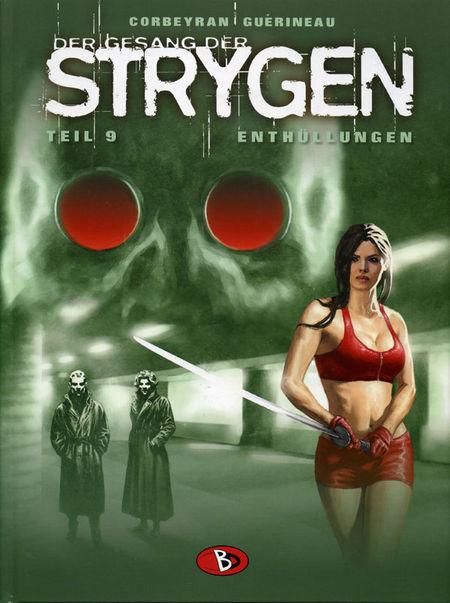 Der Gesang der Strygen 9: Enthüllungen - Das Cover