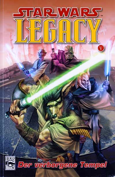 Star Wars Sonderband 48: Legacy V - Der Verborgene Tempel - Das Cover