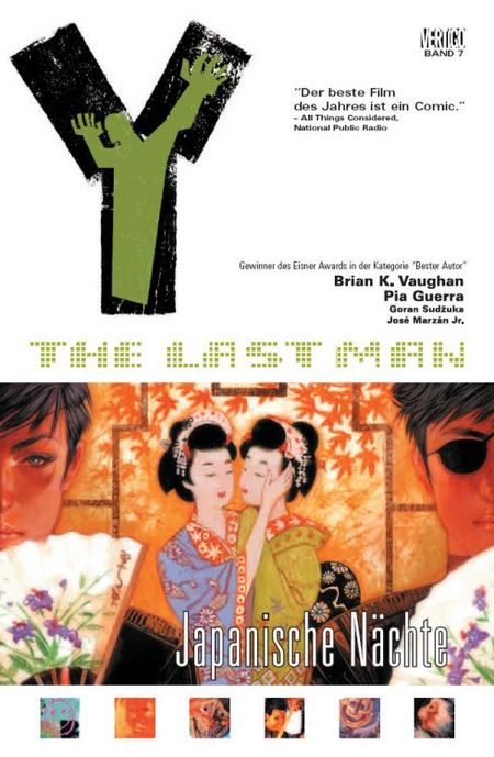 Y - The Last Man 8: Japanische Nächte - Das Cover
