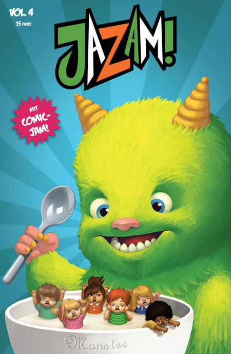 JAZAM! Vol. 4 - Monster - Das Cover
