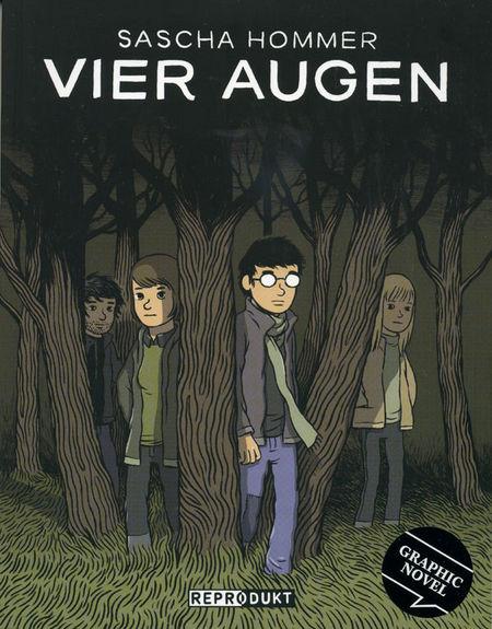Vier Augen - Das Cover