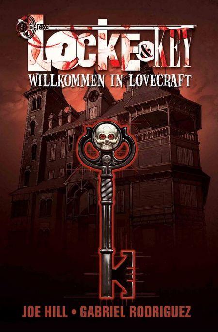Locke & Key 1: Willkommen in Lovecraft - Das Cover