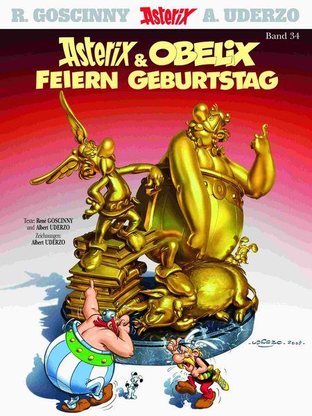 Asterix 34 - Das Cover