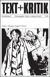TEXT+KRITIK Sonderband: Comics, Mangas, Graphic Novels - Das Cover