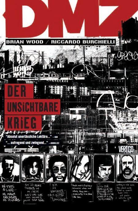 DMZ 5: Der unsichtbare Krieg - Das Cover
