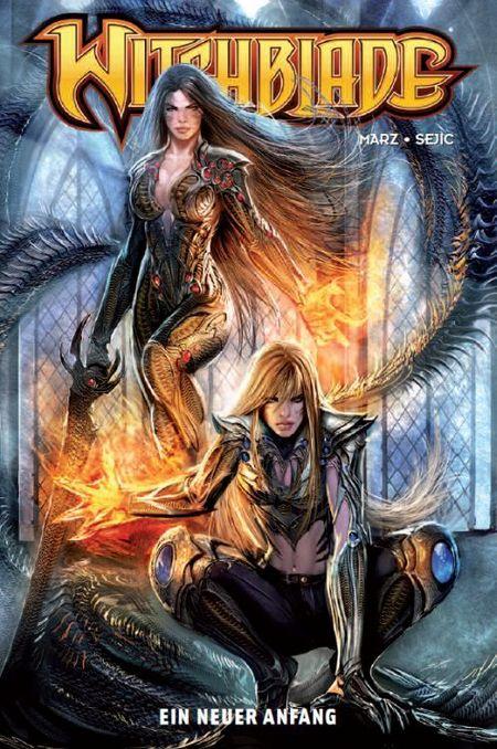 Witchblade 1 - Das Cover