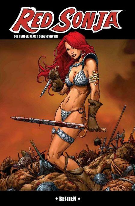 Red Sonja 4: Bestien - Das Cover