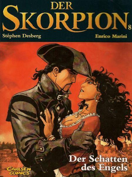 Der Skorpion 8: Der Schatten des Engels - Das Cover