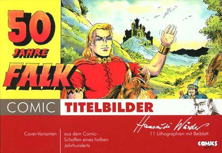 Hansrudi Wäscher: 50 Jahre Falk - Comic Titelbilder Nr. 3 - Das Cover