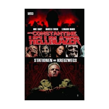 John Constantine - Hellblazer 6: Stationen des Kreuzwegs - Das Cover